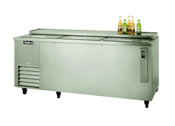 "72"" Deep Well Beer Cooler, Stainless Steel"