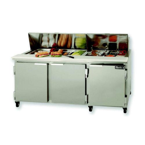 LJ Restaurant Equipment Sandwich Prepbeer Cooler Work Top - Sandwich prep table cooler