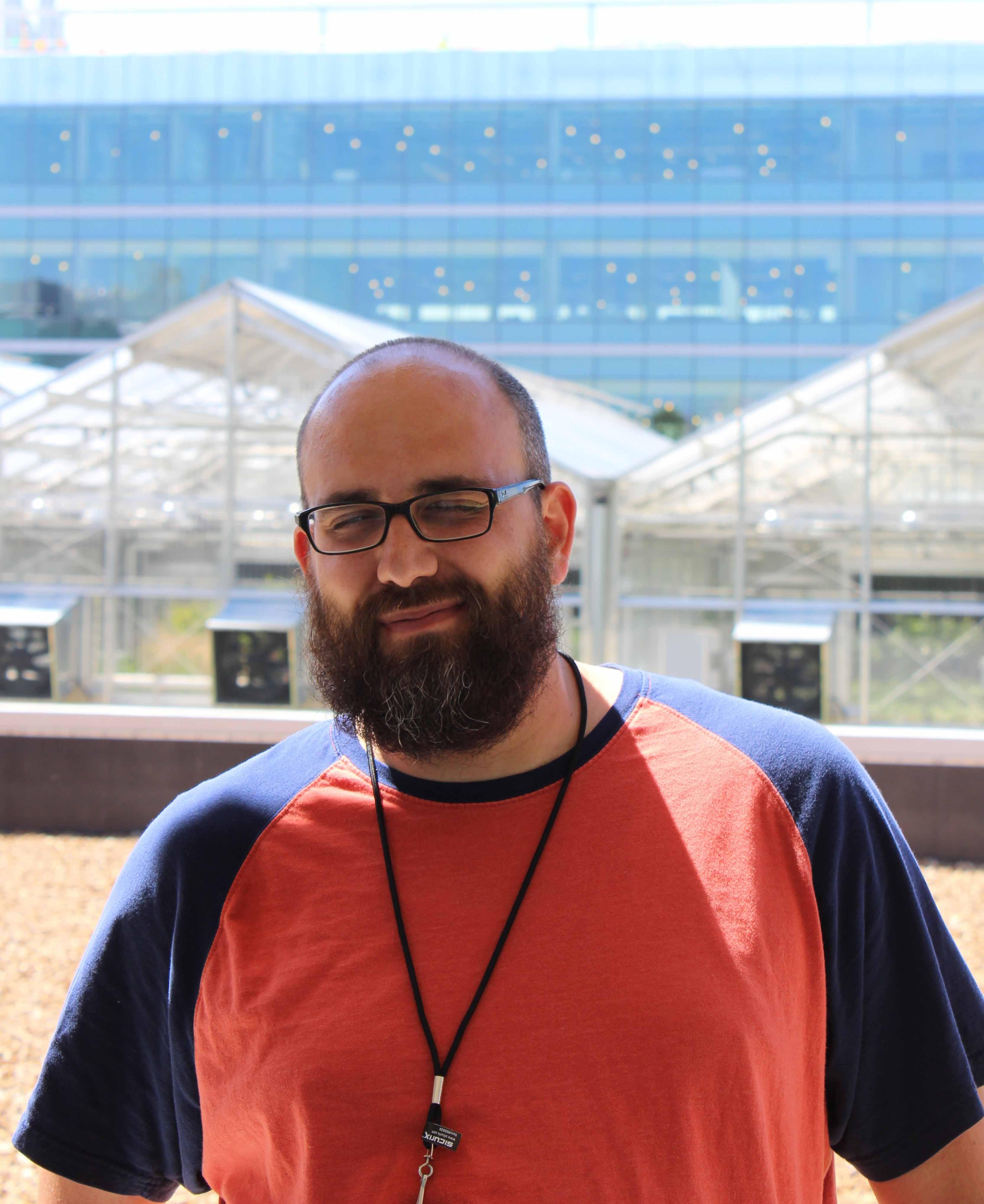 Jesse Angarano, former lab tech