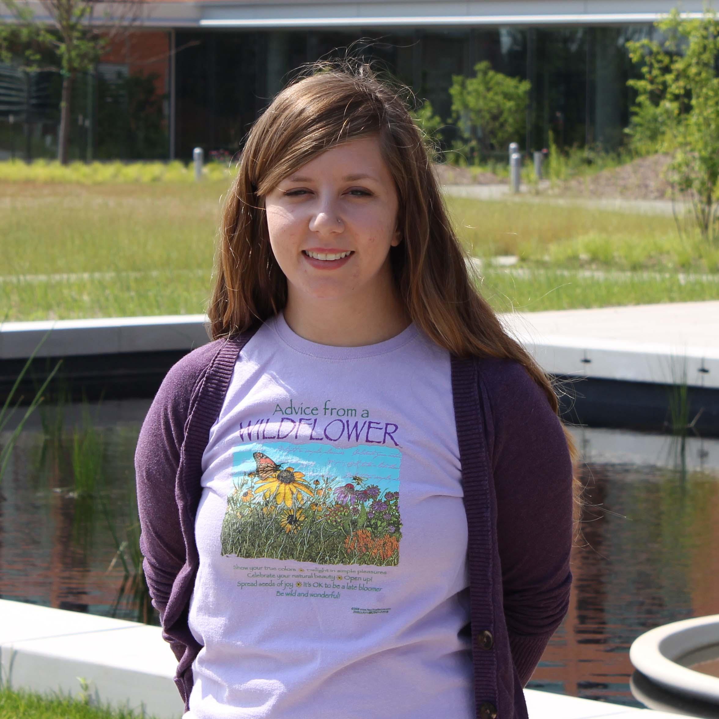 Stephanie Theiss, 2016 REU student