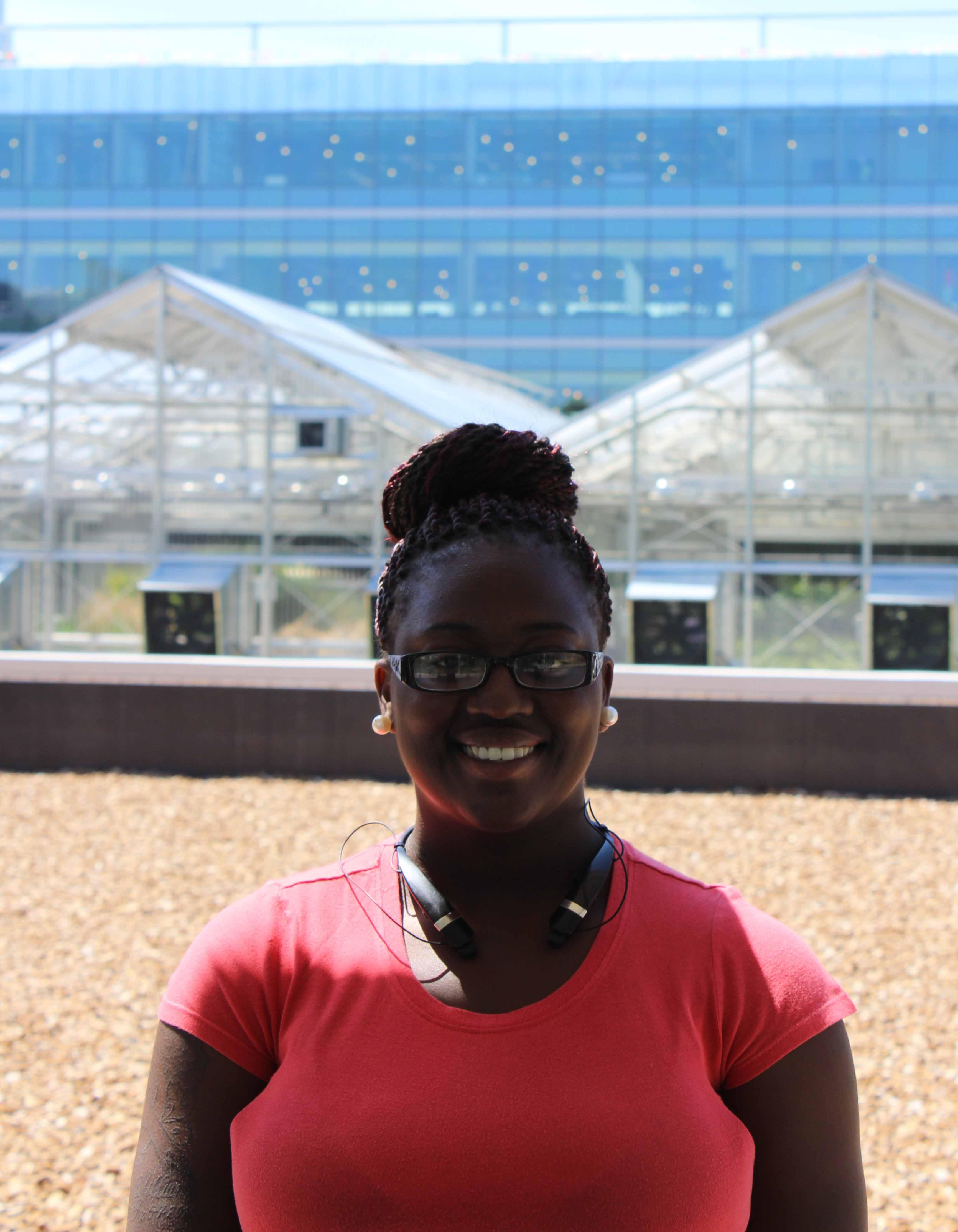 Quaneisha Woodford, 2015 REU student