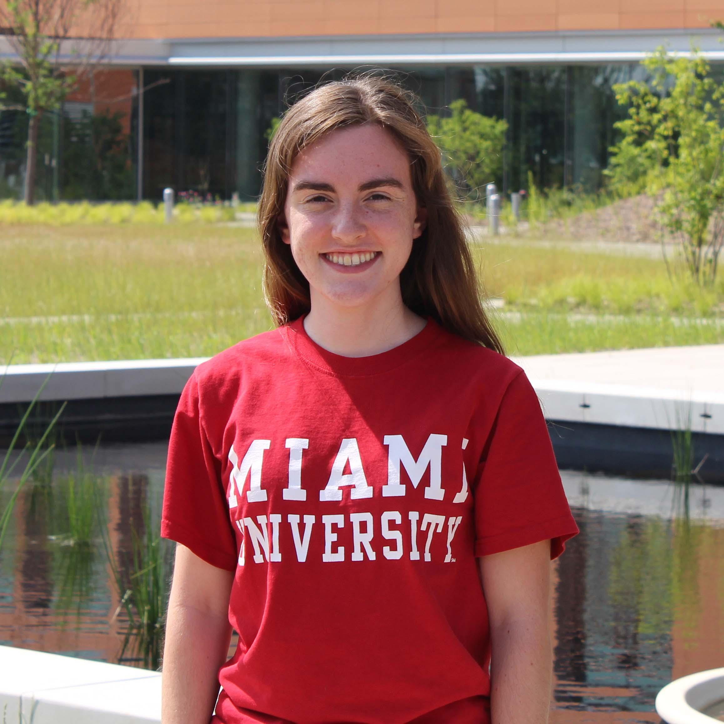 Rebekah Mohn, 2016 REU student