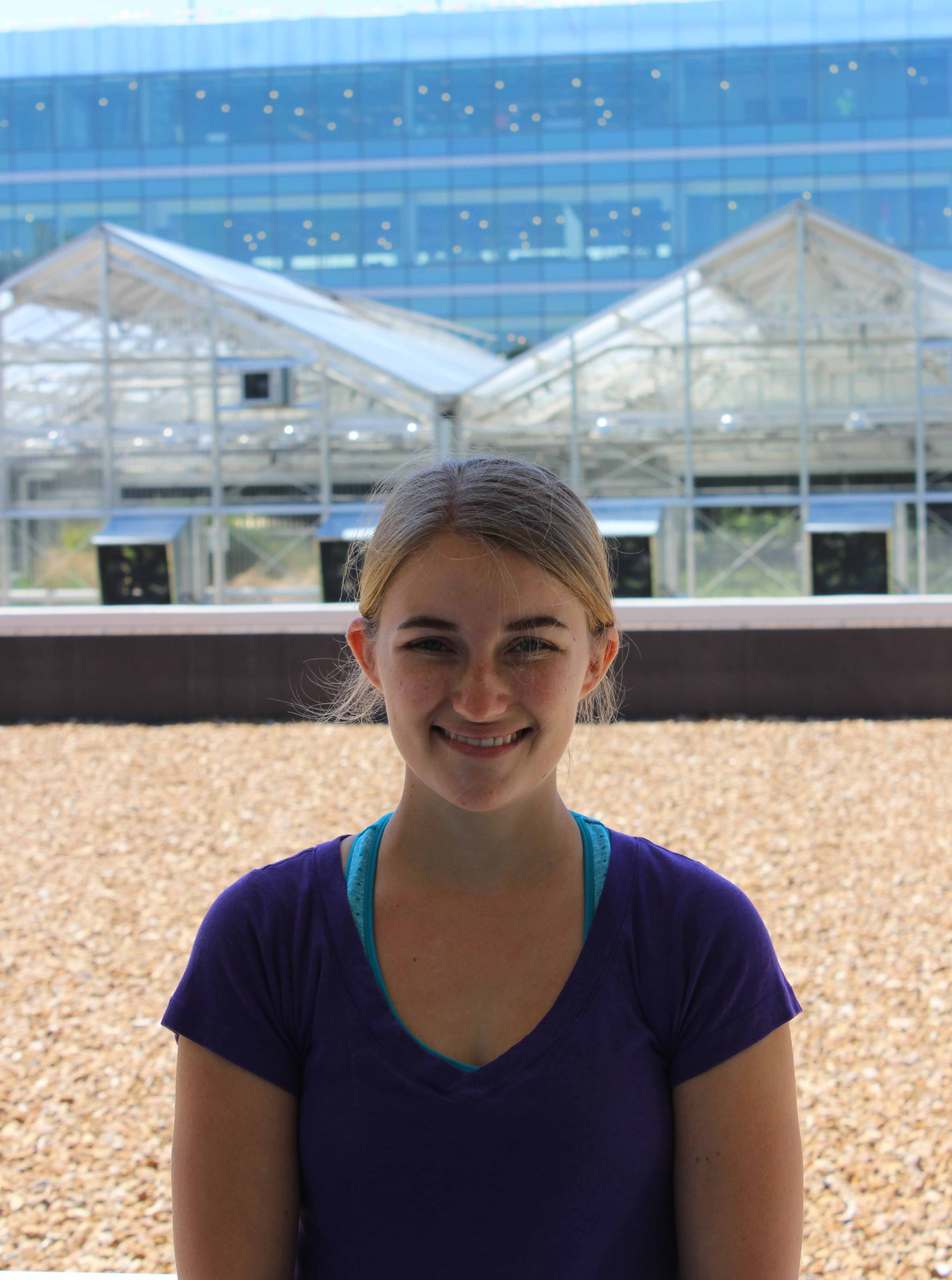 Susan Rundell, 2015 REU student