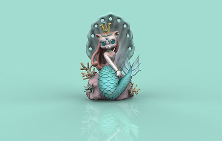 Cat Mermaid Keyshot 01.jpg