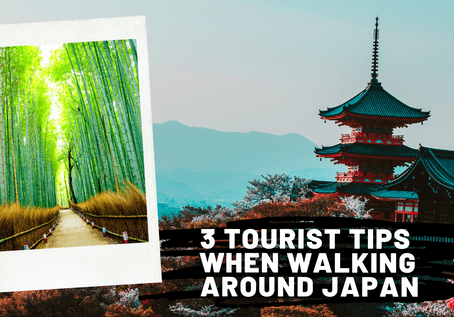 3 Tourist Tips When Walking Around Japan