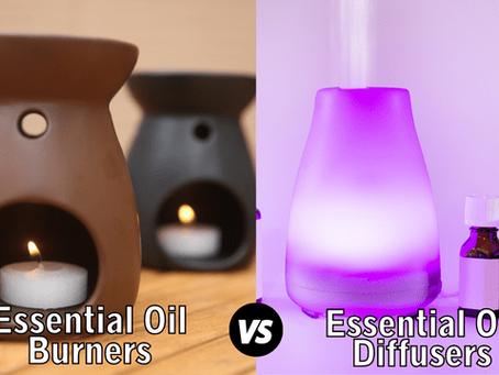 Essential Oil Burners vs Essential Oil Diffusers – Pros and Cons