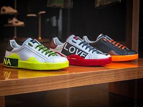 three-unpaired-multicolored-leather-snea