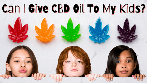 Can I Give CBD Oil to My Kids?