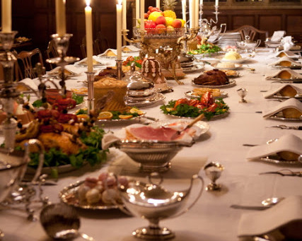 Grand Dining in the Regency Period