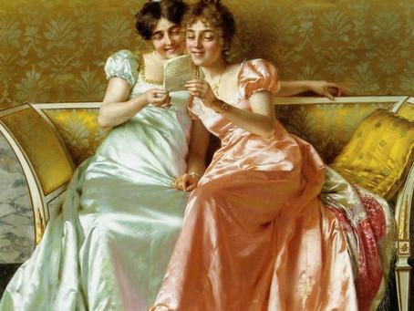Hi.  My name is Mary.  I'm a Jane Austen addict.
