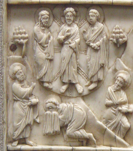 Scenes from the Life of Christ on Italo-Byzantine Ivory Plaque (Middle Left), from Art in the Christian Tradition, a project of the Vanderbilt Divinity Library, Nashville, TN. Vanderbilt Image Link [retrieved February 23, 2017]. Original source: Image courtesy of Patout Burns, Vanderbilt Divinity School.