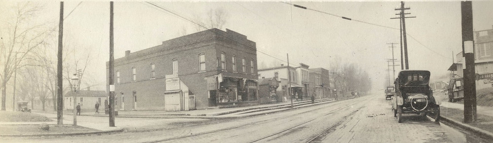 Cleveland Avenue at Aberdeen Avenue — 1922
