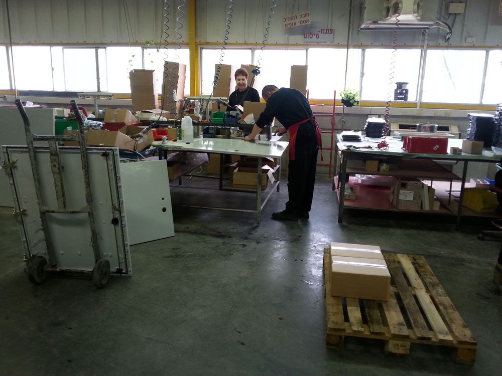 polyester cabinet assembly