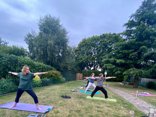 New Wednesday Evening Yoga Class - 7.30 pm Greyfriars hall