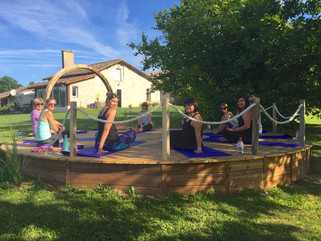 Yoga Retreat to France 18 - 22 June 2019