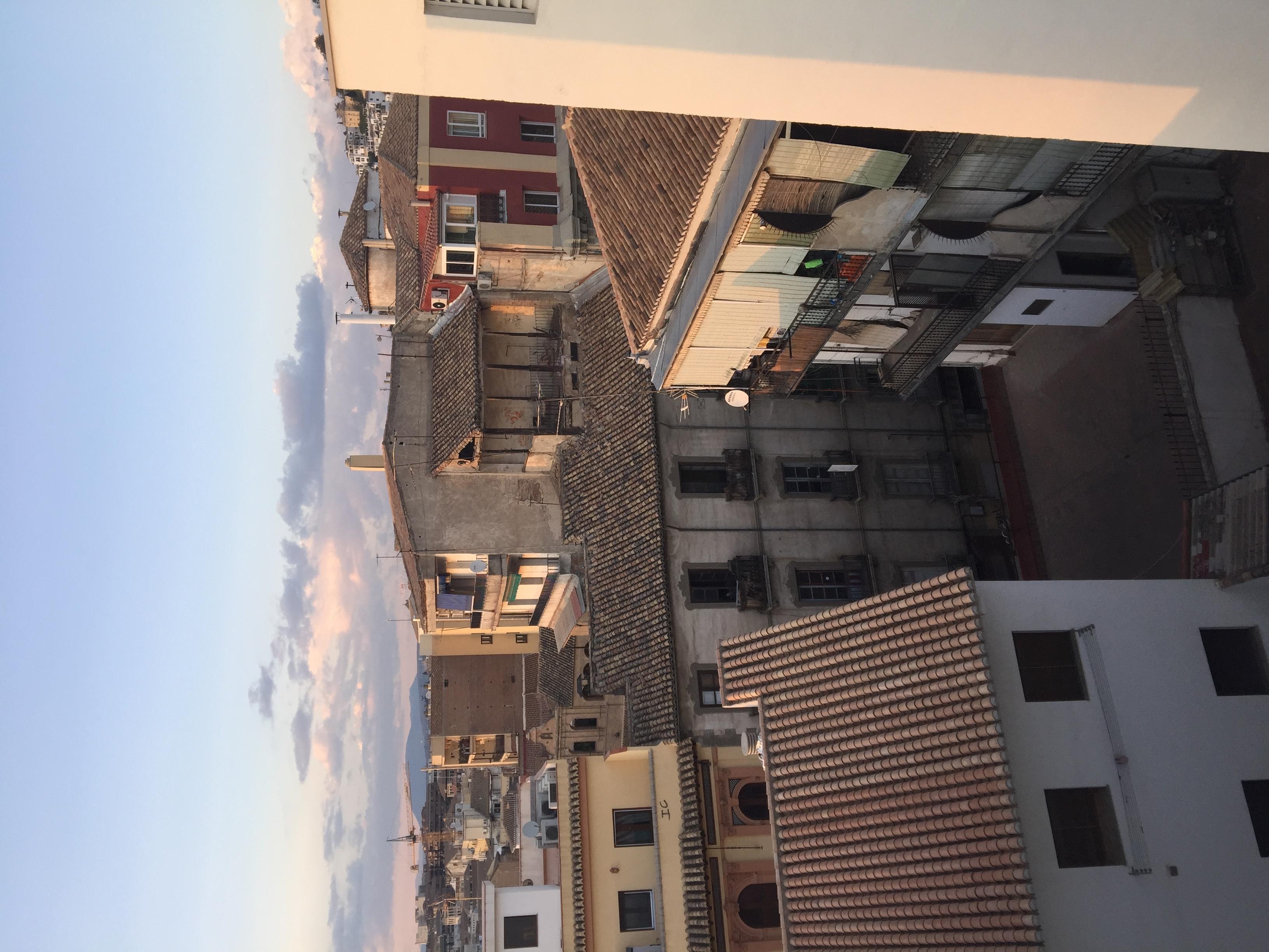 Rooftop view of Granada