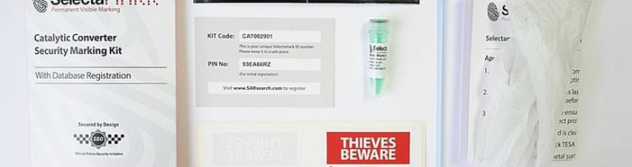 Zestaw SelectaDNA do znakowania katalizatora