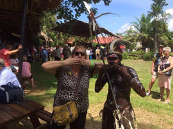 Auntie Betsy in Papua New Guinea
