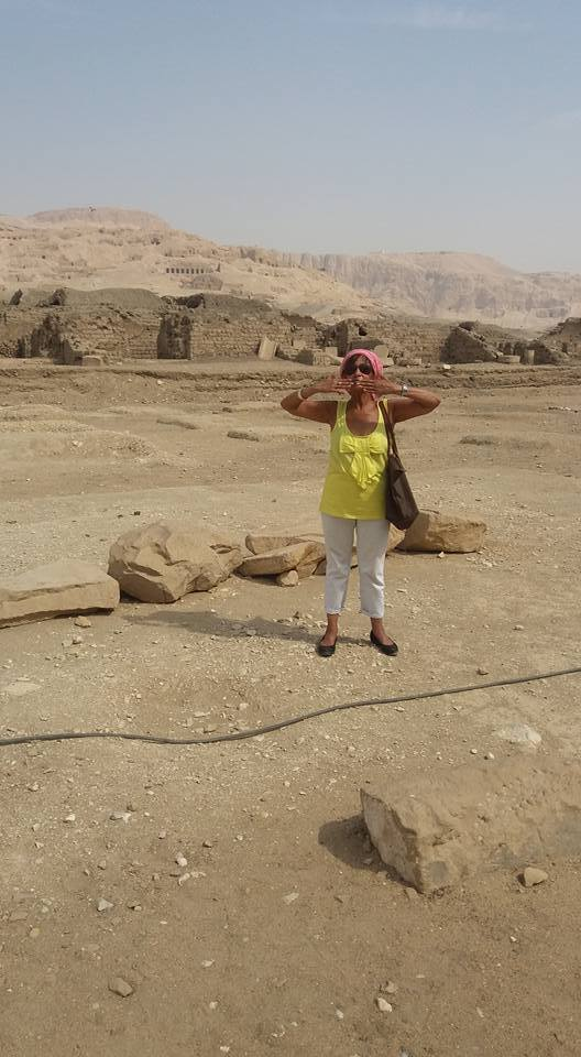 Marie Best in Egypt