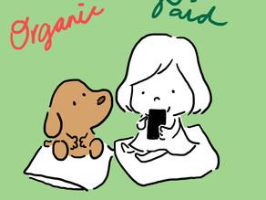 Organic social vs Paid social #1 💬❤️