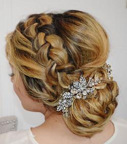 wedding hair Bethza Studio