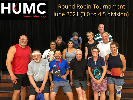 Round Robin Tournament (3.0 to 4.5 divis