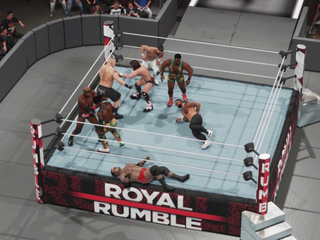 Fanboy Wrestletronic: WWE Royal Rumble 2021