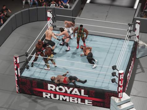 Fanboy Wrestletronic: WWE Royal Rumble 2021