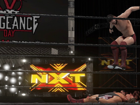 Fanboy Wrestletronic: NXT Takeover Vengeance Day