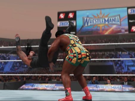 Fanboy Fantasy Wrestletronic: WWE WrestleMania 37