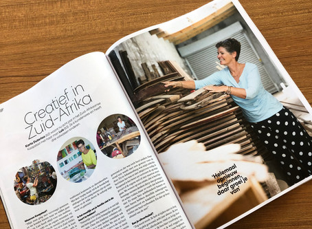 Vrouw Glossy Article