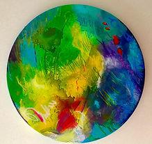 * Fire cracker #1 dia 40 cm canvas.jpg