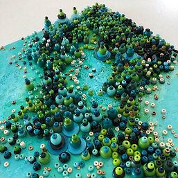 Ocean themed mosaic