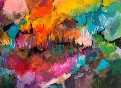 Euphoric 30 x 40 cm on paper R 1600