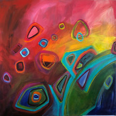 A new journey 1 x 1 m SOLD