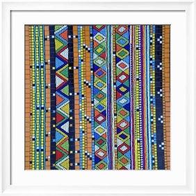 Traditional beadwork in mosaic (belts).j