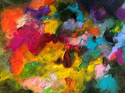 The joy of color 30 x 40 cm on paper R16