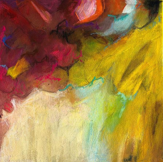 Timeless tones  on canvas 40x40 cm