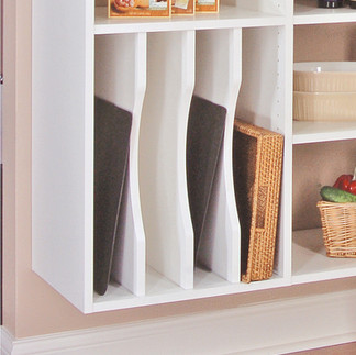 vertical tray divideres