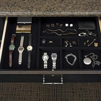 velvet jewely drawer insert