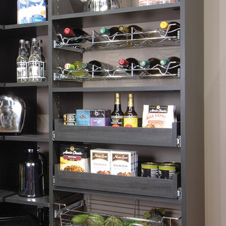 pull out pantry shelves