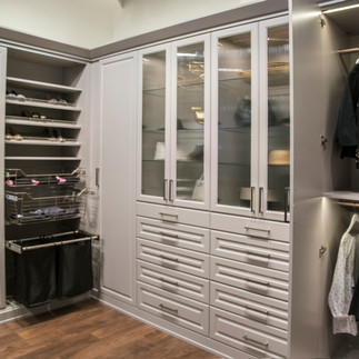 painted wardrobe closet