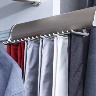 elite tie rack brushed