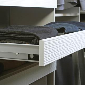 engage divided shelf drawer