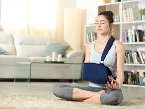 The Secret to Staying Strong When You Are In a Cast or Sling