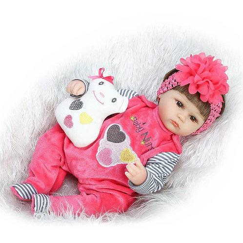 Boneca Reborn Bebe Reborn Realista Perfeita! 40 CM