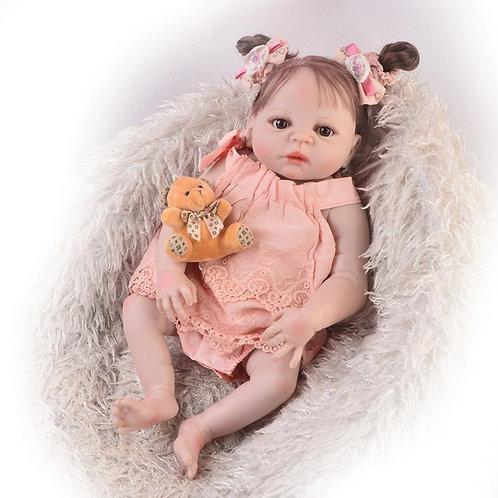 bebê reborn de silicone com preço acessível