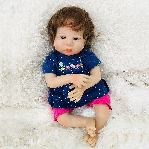 Bebê Real Reborn 48 cm em oferta