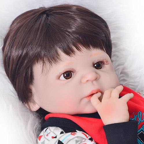 bebe real reobrn menino silicone