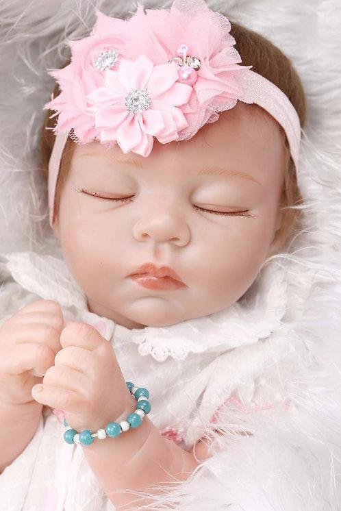 bebe reborn Dormindo realista linda